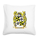 Campbell (Ireland) Square Canvas Pillow