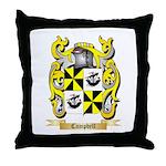Campbell (Ireland) Throw Pillow