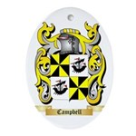 Campbell (Ireland) Ornament (Oval)