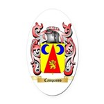 Campasso Oval Car Magnet