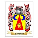 Campasso Small Poster