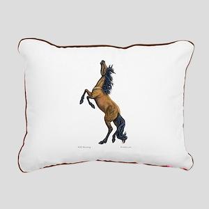 Mustang~Horse~Rectangular Canvas Pillow