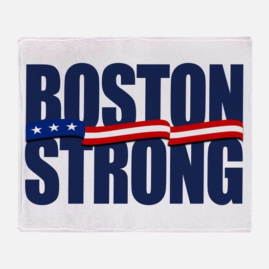 Boston Strong Throw Blanket