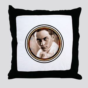 Manly P. Hall Tee Throw Pillow