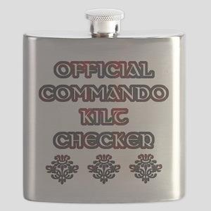 Official Commando Kilt Checker Flask