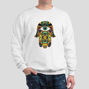 Hamsa Hand 3 Sweatshirt