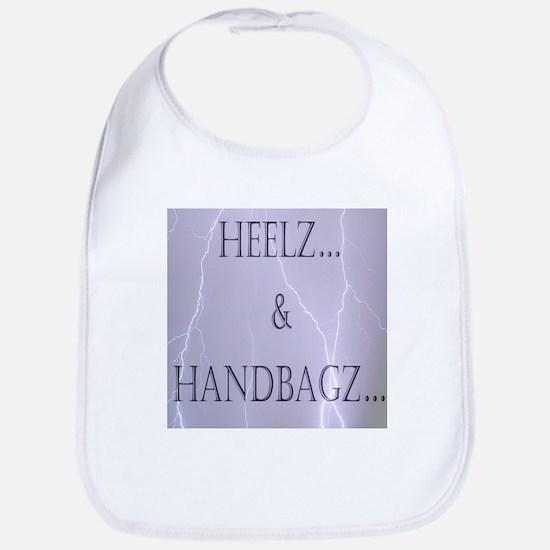 Heelz and Handbagz Bib