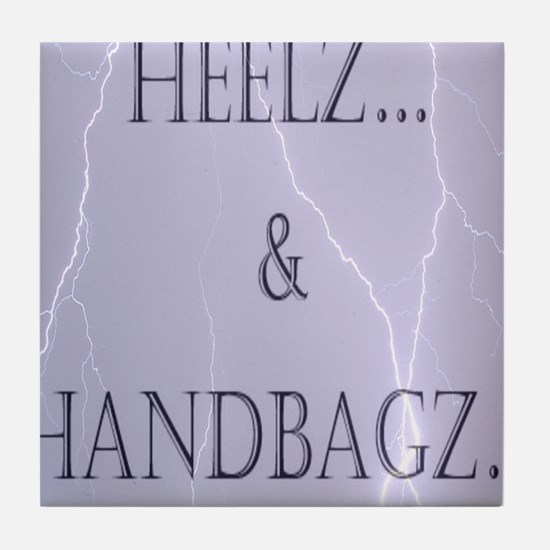 Heelz and Handbagz Tile Coaster