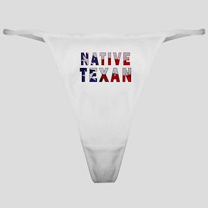 Native Texan Flag Classic Thong