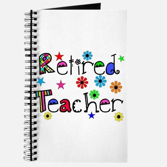 retired teacher stars flowers Journal