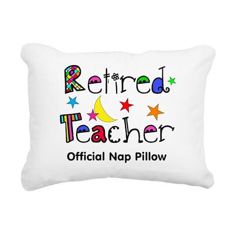 Retired teacher CP nap pillow Rectangular Canvas P