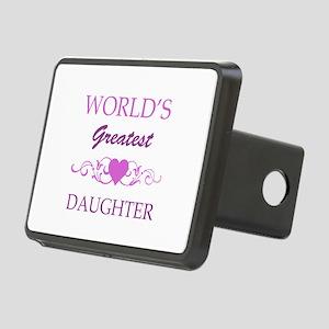 World's Greatest Daughter (purple) Rectangular Hit