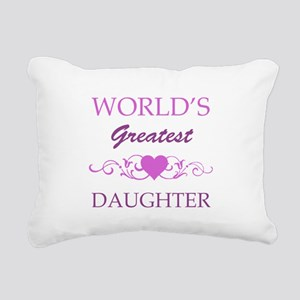 World's Greatest Daughter (purple) Rectangular Can