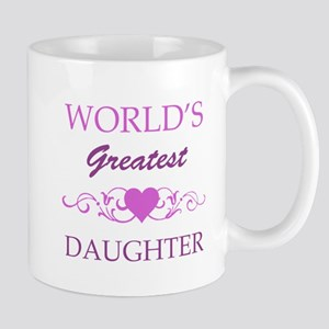 World's Greatest Daughter (purple) Mug