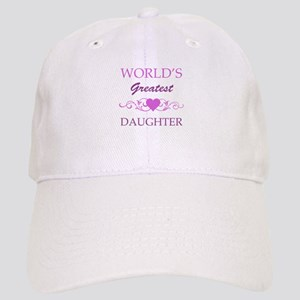 World's Greatest Daughter (purple) Cap