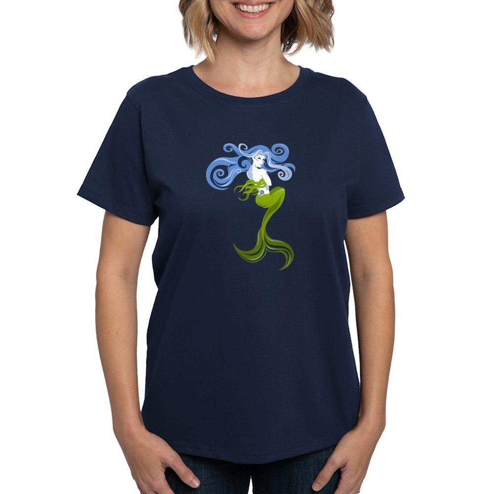 CafePress-Mermaid-T-Shirt-Women-039-s-Cotton-T-Shirt-844798059 thumbnail 37