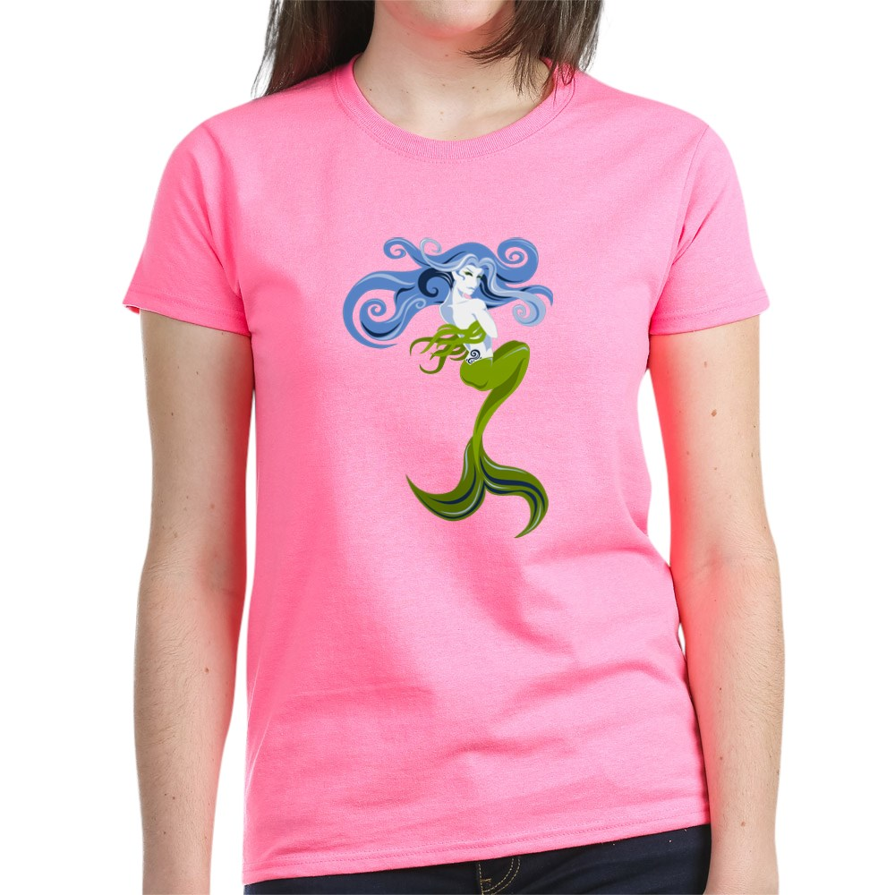 CafePress-Mermaid-T-Shirt-Women-039-s-Cotton-T-Shirt-844798059 thumbnail 25