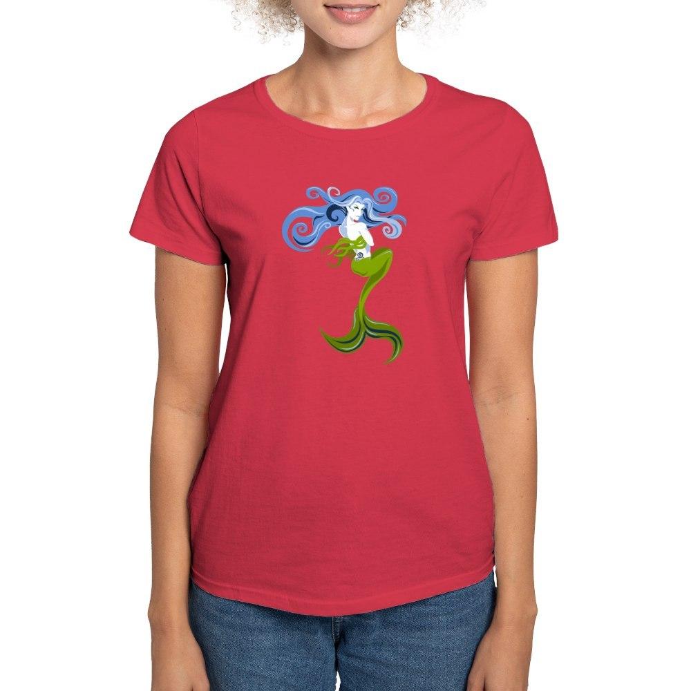 CafePress-Mermaid-T-Shirt-Women-039-s-Cotton-T-Shirt-844798059 thumbnail 14