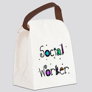 social worker PILLOW 2 Canvas Lunch Bag