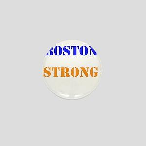Boston Strong Print Mini Button