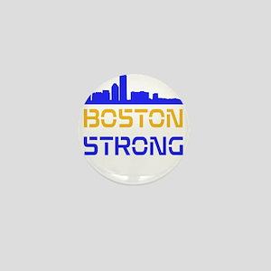 Boston Strong Skyline Multi-Color Mini Button