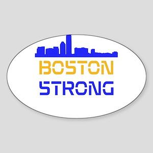 Boston Strong Skyline Multi-Color Sticker