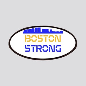 Boston Strong Skyline Multi-Color Patches