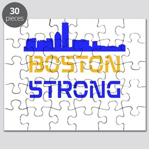 Boston Strong Skyline Multi-Color Puzzle