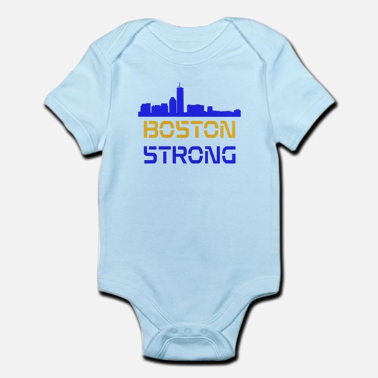 Boston Strong Skyline Multi-Color Body Suit