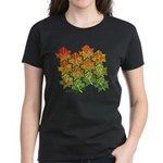 Celtic Leaf Tesselation Women's Dark T-Shirt