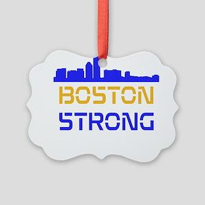 Boston Strong Skyline Multi-Color Ornament