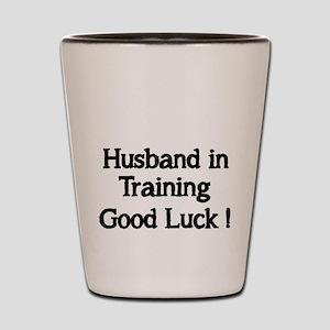 Husband in Training Shot Glass