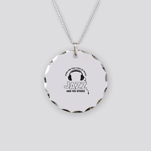 Jazz lover designs Necklace Circle Charm