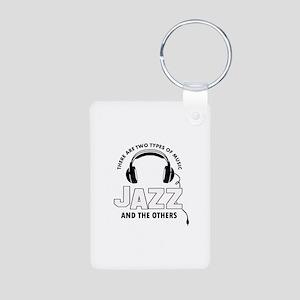 Jazz lover designs Aluminum Photo Keychain