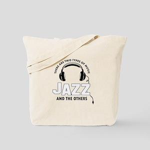 Jazz lover designs Tote Bag