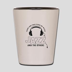 Jazz lover designs Shot Glass