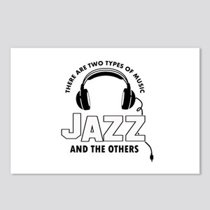 Jazz lover designs Postcards (Package of 8)