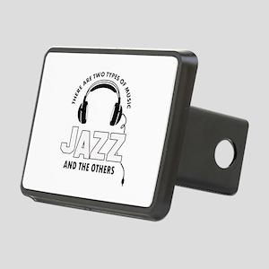Jazz lover designs Rectangular Hitch Cover
