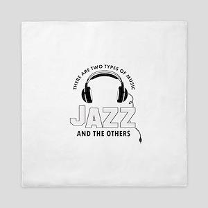 Jazz lover designs Queen Duvet