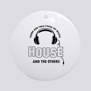 House lover designs Ornament (Round)