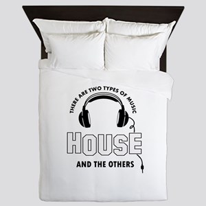 House lover designs Queen Duvet