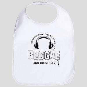 Reggae lover designs Bib