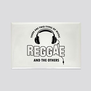 Reggae lover designs Rectangle Magnet