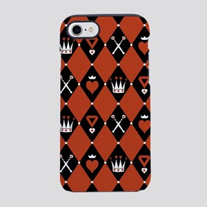 Queen Of Hearts Royal Motifs iPhone 7 Tough Case