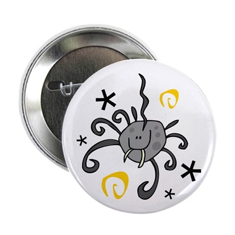 """FANG THE SPIDER 2.25"""" Button (100 pack)"""