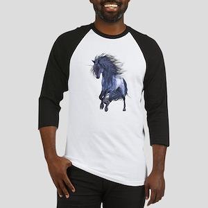 Blue Unicorn 1 Baseball Jersey