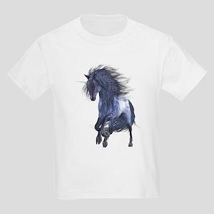Blue Unicorn 1 Kids Light T-Shirt