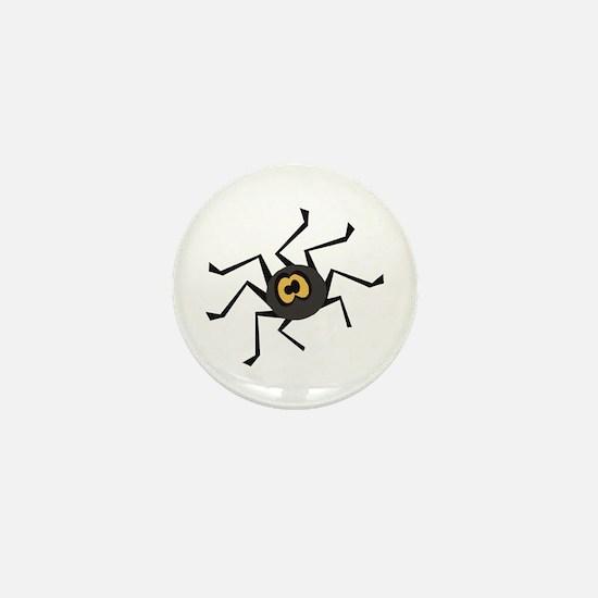 ITSY TIPSY SPIDER Mini Button