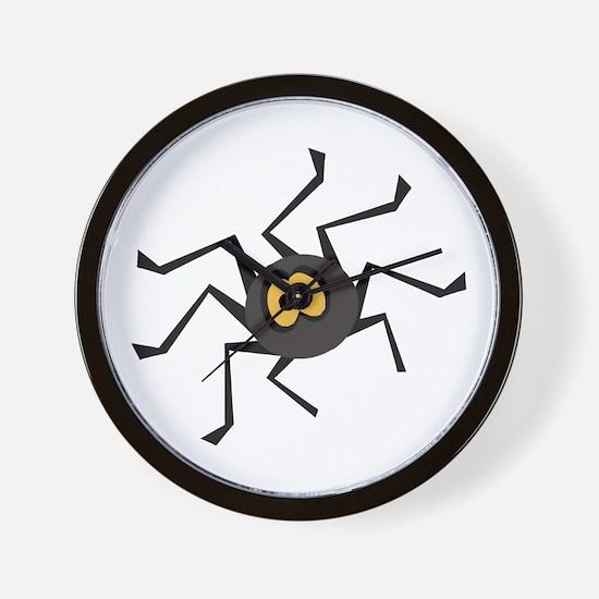 ITSY TIPSY SPIDER Wall Clock