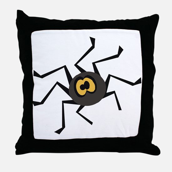 ITSY TIPSY SPIDER Throw Pillow